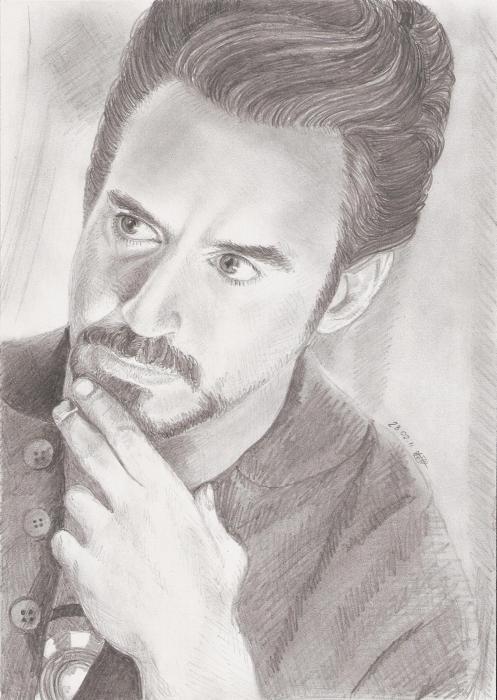Robert Downey Jr por Julie_Winchester